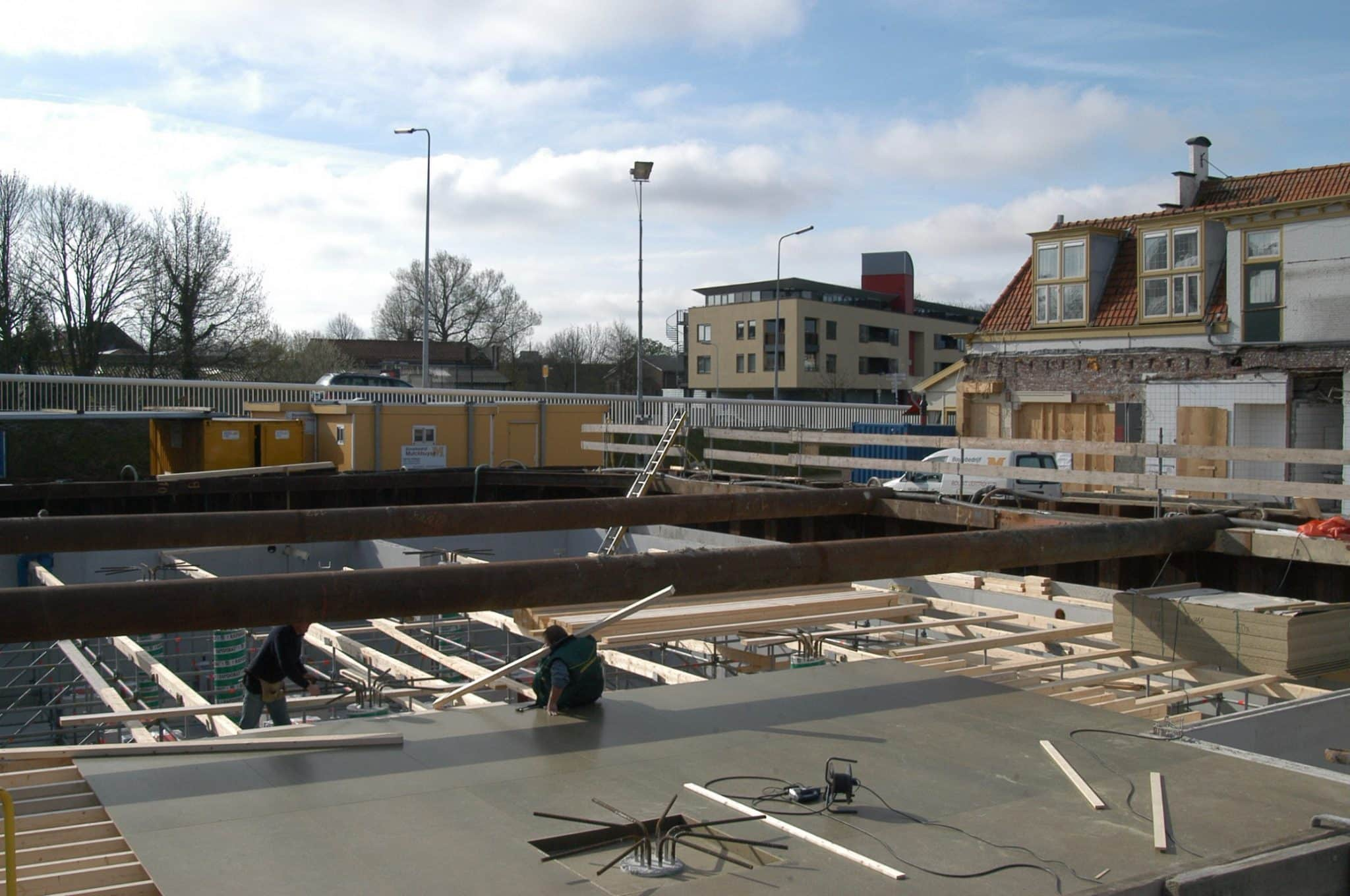 Leiden - Damwandkuip stempelraam